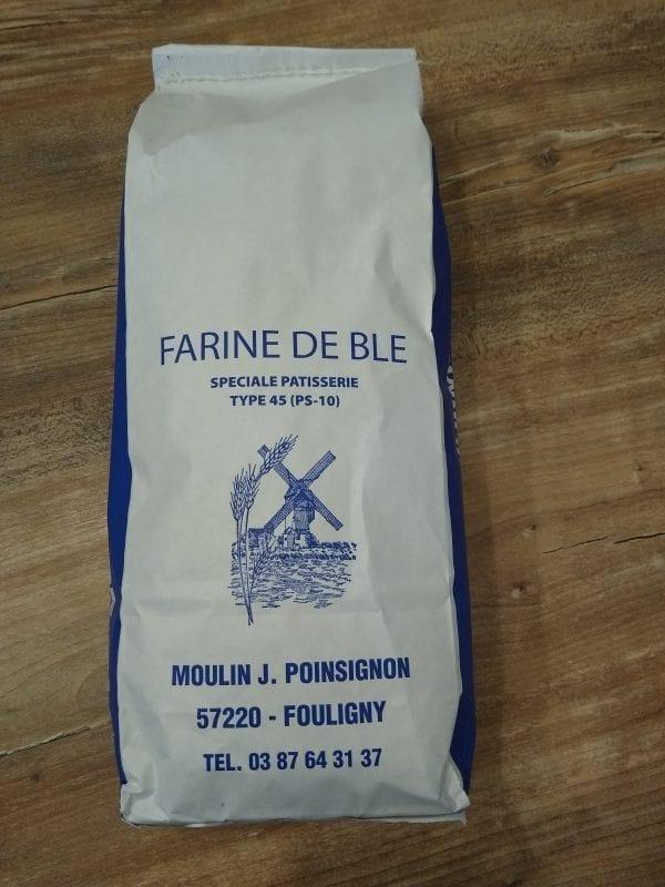 FARINE T45 MOULIN FOULIGNY