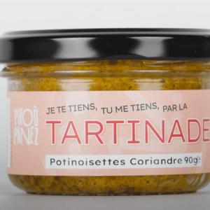 Tartinade - Potinoisettes CoriandrePikoù Panez