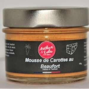 Mousse de Carotte au Beaufort